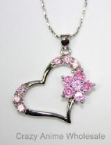 Paradise kiss necklace(pink)