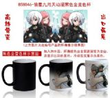 Starrysky anime hot and cold color cup