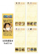 one piece anime notebook