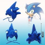 sonic anime plush cap