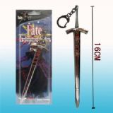 fate stay night anime keychain