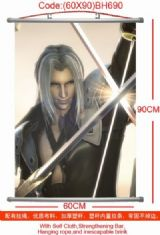 Final Fantasy Sephiroth Wallscroll