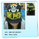One Piece Luffy Skull Jacquard Hat
