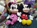 mickey anime plush doll