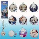 fate stay night anime phonestrap