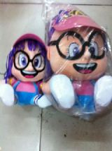 arale anime plush doll