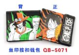 one piece anime wallet