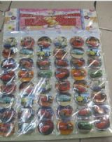 toys story anime brooch set