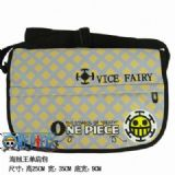 One Piece Law Waterproof Nylon Satchel