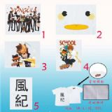 hitman reborn anime t-shirt