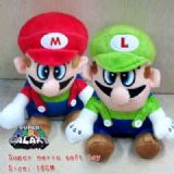 super mario anime plush doll
