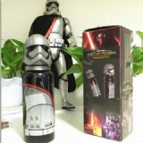 Star Wars Gray Plastic + stainless steel Thermos c