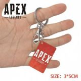 Apex Legends-23 Anime Acrylic Color Map Keychain P