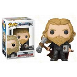 POP The avengers allianc Thor Boxed Figure Decoration Model 10CM