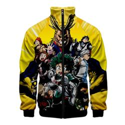 MY HERO ONE'S JUSTICE 4 season 3D hoodie 2XS TO 4XL