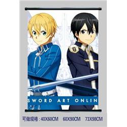 sword art online anime wallscroll 60*90cm