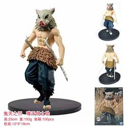 Demon Slayer Kimets Hashibira Inosuke Boxed Figure Decoration Model 15CM 193G 12X9X18CM
