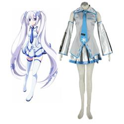 Vocaloid Snow Miku Cosplay Costume XXS XS S M L XL XXL XXXL 7 days prepare