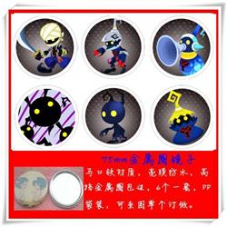 Kingdom Hearts Mirror 75mm 6 pcs