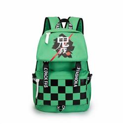Demon Slayer Kimets Green backpack bag