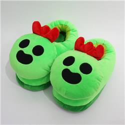 Brawl Stars Opuntia stricta All inclusive plush doll slippers 28CM 0.3KG