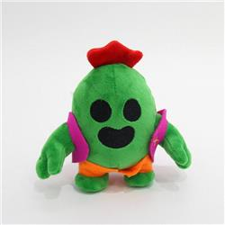 Brawl Stars Opuntia stricta Plush doll pendant 13CM 0.035KG price for 10 pcs