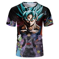 dragon ball anime 3d print tshirt 2xs to 4xl