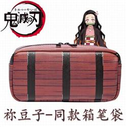 Demon Slayer Kimets Kamado Nezuko zipper pencil case