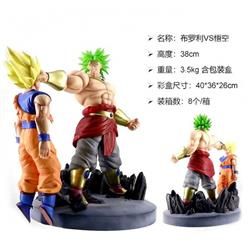 Dragon Ball Broli VS Son Goku Boxed Figure Decoration 38CMModel box size :40X36X26CM 3.5KG