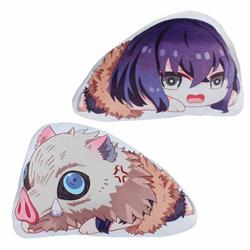 Demon Slayer Kimets Hashibira Inosuke Double-sided pillow 45X35X12CM