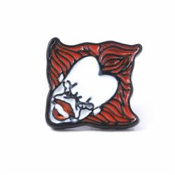 Stephen King's It Badge badge brooch 2.1X2.1CM 3.5G Bagged price for 5 pcs Style A