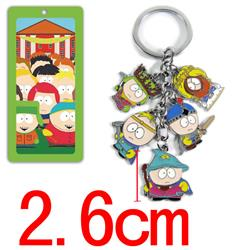 south park anime keychain