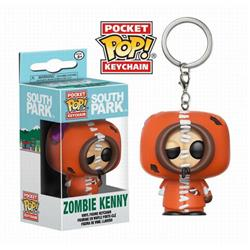 POP South Park Boxed Figure Keychain pendant 5CM