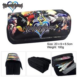 kingdom hearts anime pencil bag