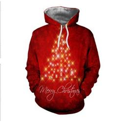 christmas 3d hoodie 2xs to 4xl
