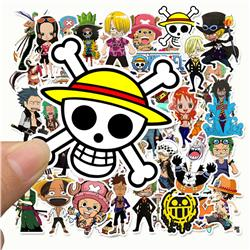 one piece anime sticker price for 96 pcs