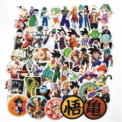 dragon ball anime sticker price for 200 pcs