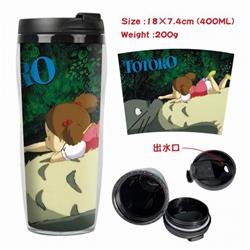 Totoro Starbucks Leakproof Insulation cup Kettle 18X7.4CM 400ML Style B