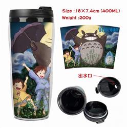 Totoro Starbucks Leakproof Insulation cup Kettle 18X7.4CM 400ML Style C