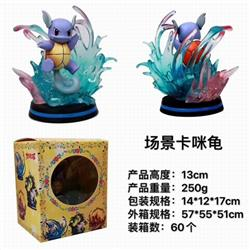 Pokemon Wartortle Boxed Figure Decoration Model 13CM 250G a box of 60