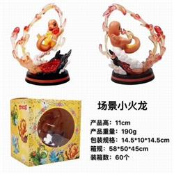 Pokemon Charmander Boxed Figure Decoration Model 11CM 190G a box of 60
