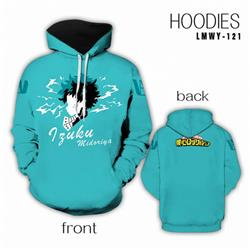 My Hero Academia Full color Hooded Long sleeve Hoodie S M L XL XXL XXXL preorder 2 days LMWY121