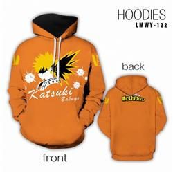My Hero Academia Full color Hooded Long sleeve Hoodie S M L XL XXL XXXL preorder 2 days LMWY122