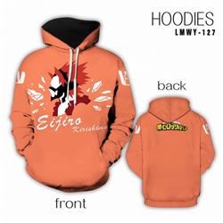 My Hero Academia Full color Hooded Long sleeve Hoodie S M L XL XXL XXXL preorder 2 days LMWY127