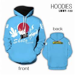 My Hero Academia Full color Hooded Long sleeve Hoodie S M L XL XXL XXXL preorder 2 days LMWY123