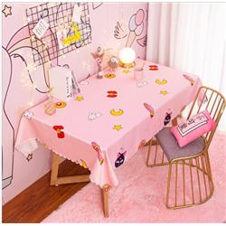 sailormoon anime 3d printed table cloth 130*180 welcome custom design
