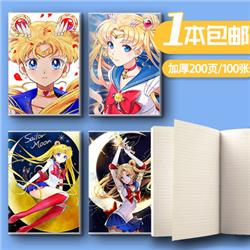 sailormoon anime notebook
