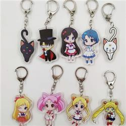 sailormoon anime keychain