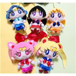 sailormoon anime plush pendant 13cm