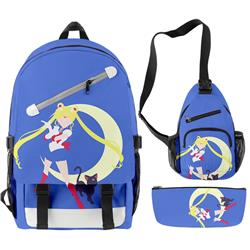 sailormoon anime bag set